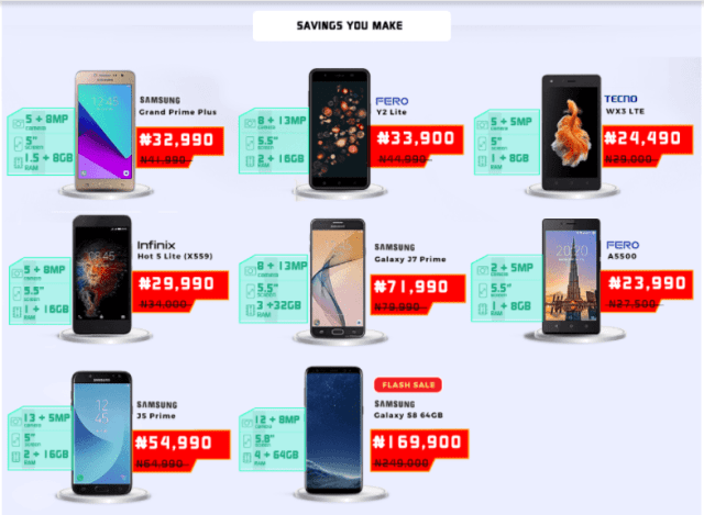 hot deal on Jumia mobile week