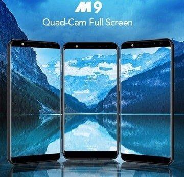 Leagoo m9 display