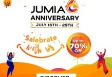 Jumia 6 years anniversary