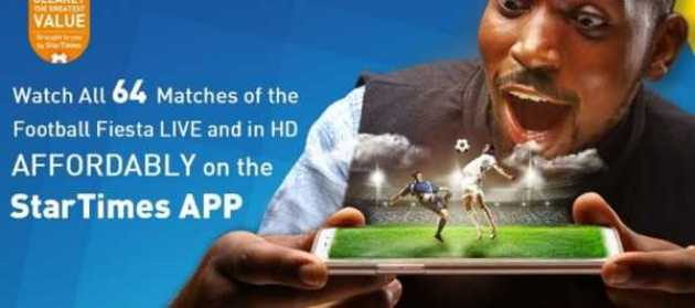 2018 World Cup in Startime Apps