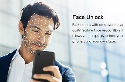 Gionee F205 face id