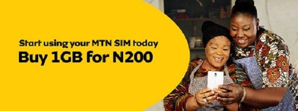 MTN welcome back offer