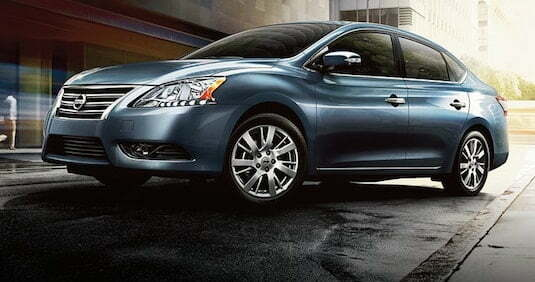 Nissan sentra car
