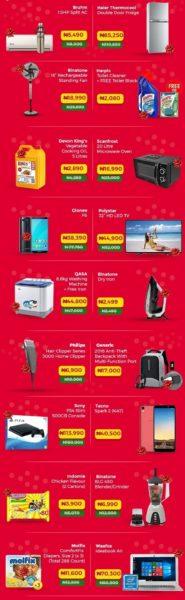 Jumia Christmas promo sale on 12-12-2018