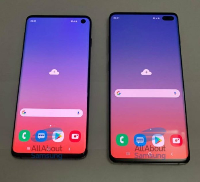 Samsung Galaxy S10 and S10+ Design and specifications