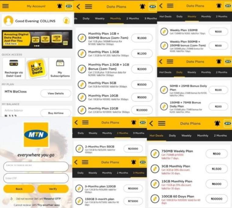 My MTN App, Self care app download and why you need to use mtn mobile app