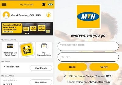 My MTN Self Care App Download and Guide