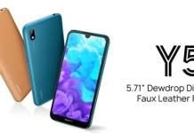 2019 huawei Y5 smartphone