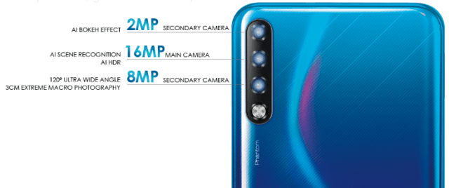 Phantom 9 with triple cameras