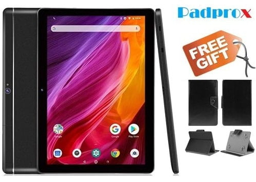 Padprox Android Tablet Specs and Price (10.1 inch, 4GB+64GB)