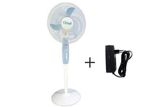 cloud-energy-fan solar and inverter energy saver standing fan