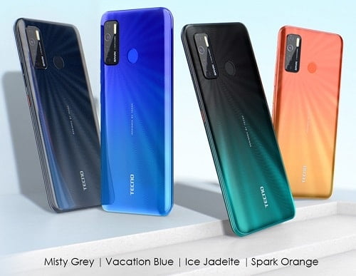 Spark 5 colors and price