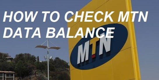 How to check MTN data balance in 3 different ways