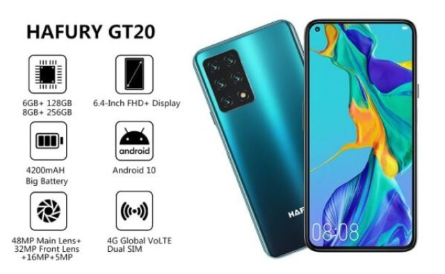 Hahfury GT20 review and price on Amazon