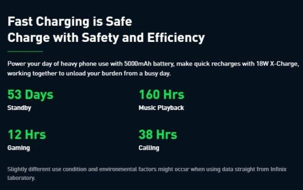 Infinix smartphones price in Nigeria