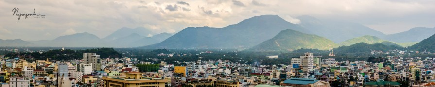 mountains on Nha Trang, Vietnam