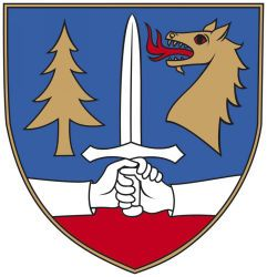 Arms of Bad Traunstein, Austria