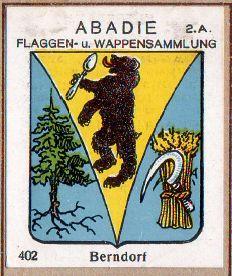 Arms of Berndorf, Austria