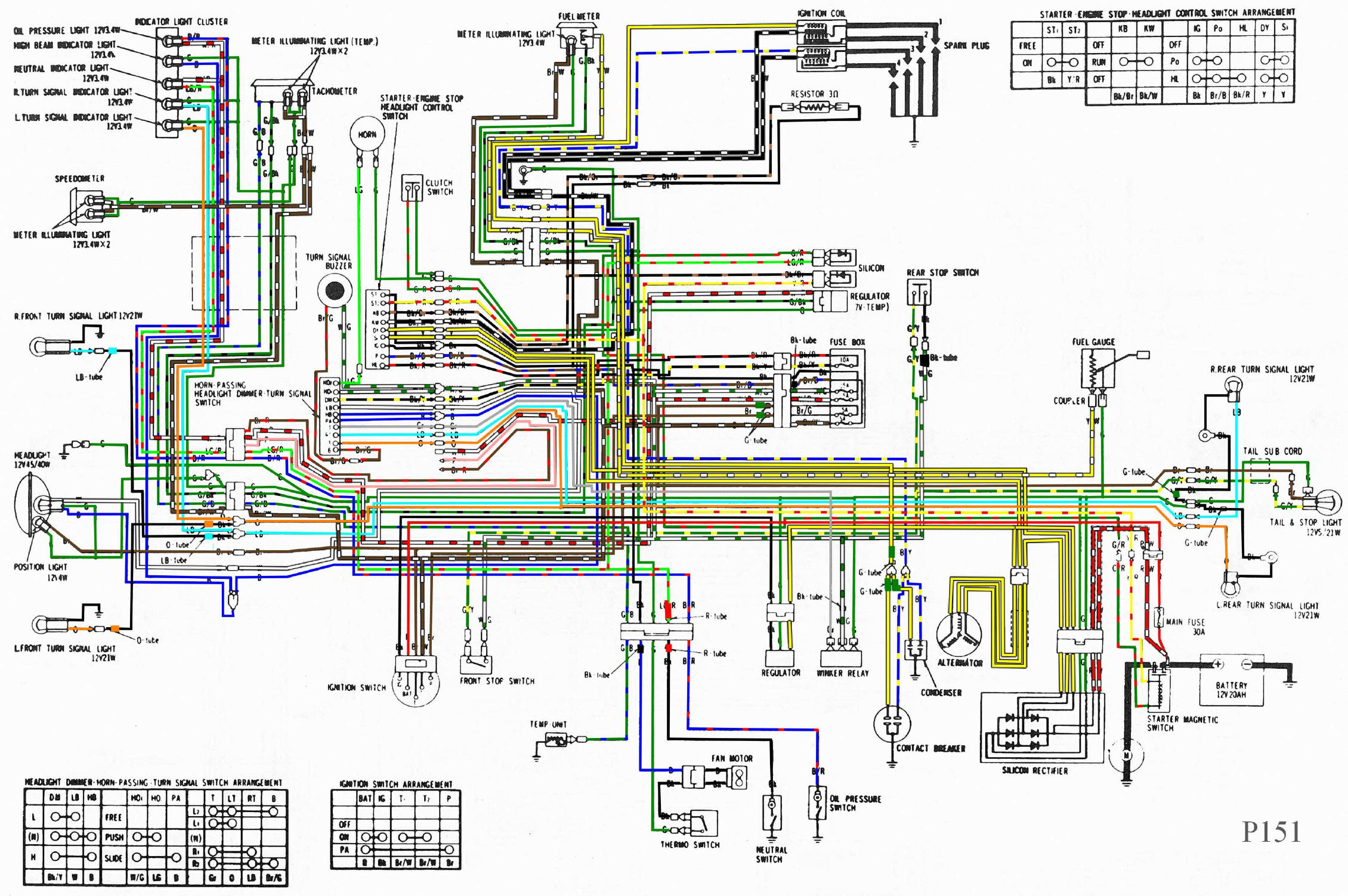 2004 Goldwing Wiring Diagram | Wiring Library