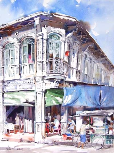 Khoo Cheang jin Watercolour