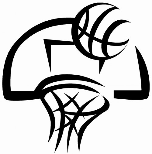 basketball images clip art black white wallpapers hd wallpaper1 rh nh highschoolsports com basketball clipart black and white png baseball black and white clipart