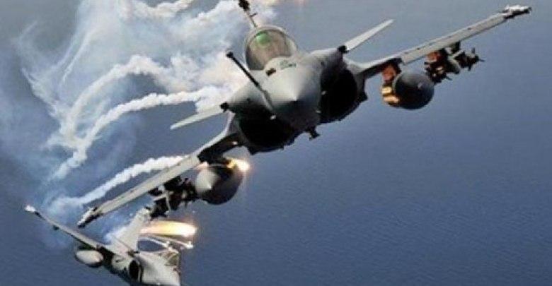 طيران التحالف يستهدف مواقع تخزين صواريخ بالستية تابعة لميليشيا الحوثي