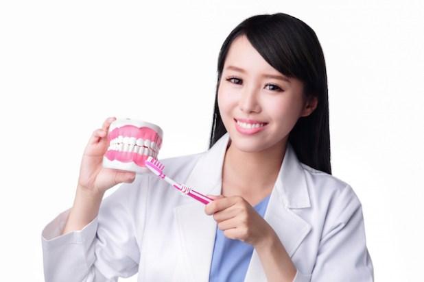 Smile Woman Dentist Doctor