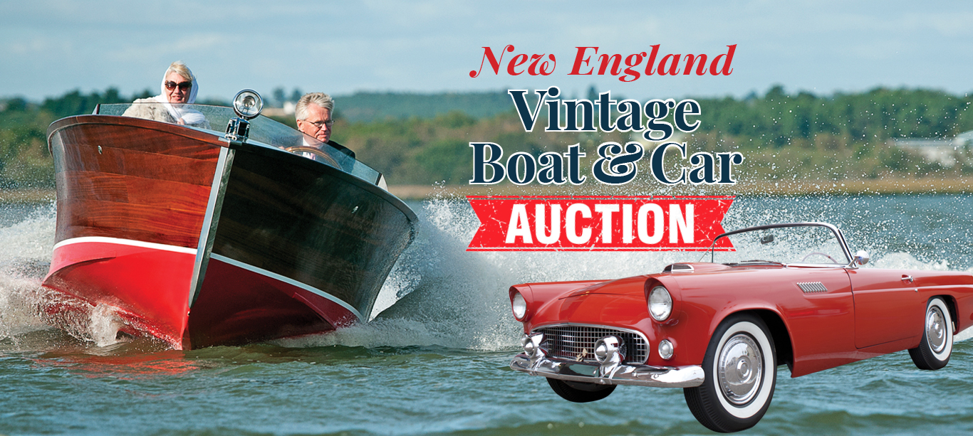 Vintage Boat & Car Auction - NH Boat Museum