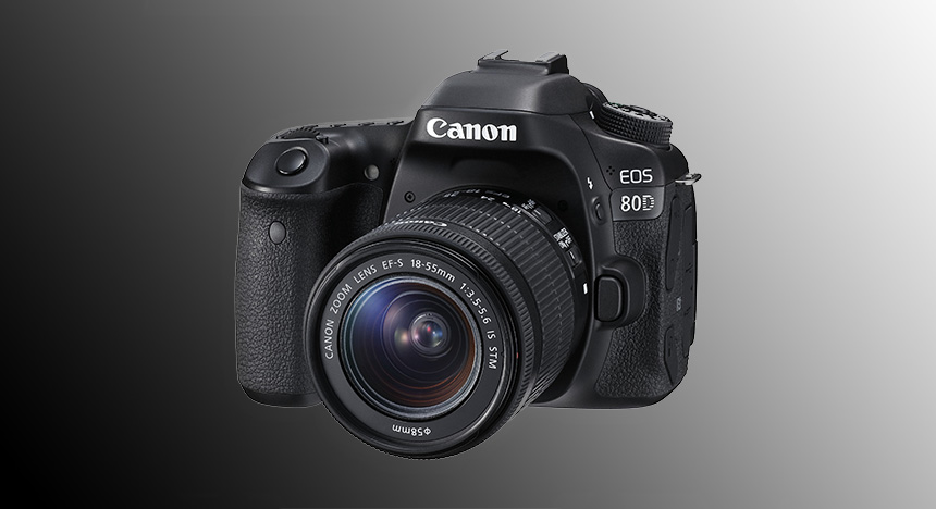 Canon EOS 80D mit EF-S 18-55mm IS STM