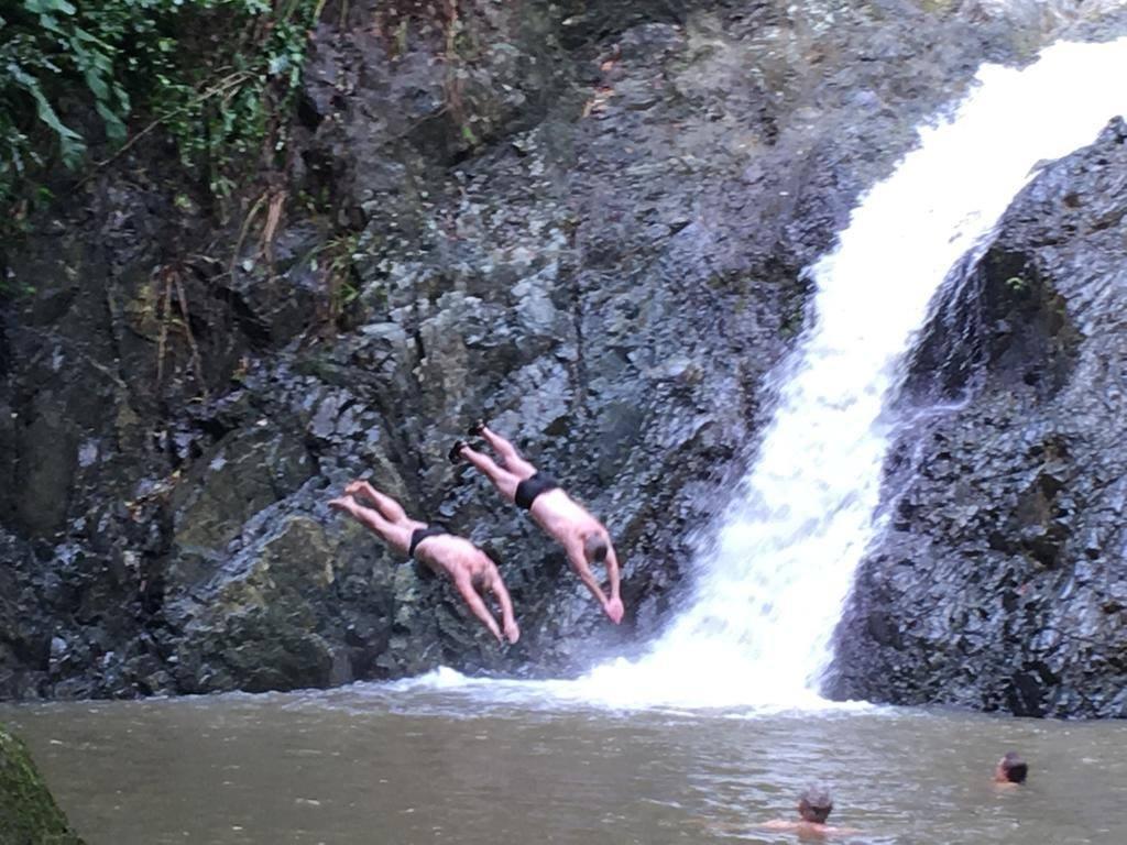 Diving the Caribbean (and Atlantic) - Allan and Simon diving
