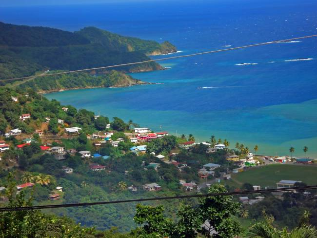 Diving the Caribbean (and Atlantic) - Nabucco's Resort - Tobago.