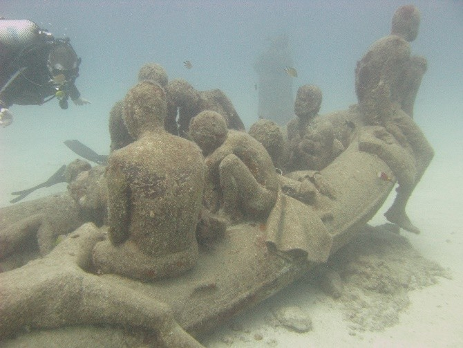 Museum - The Raft of Lampedusa
