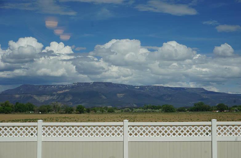 Grand Mesa from 182 Sun Hawk