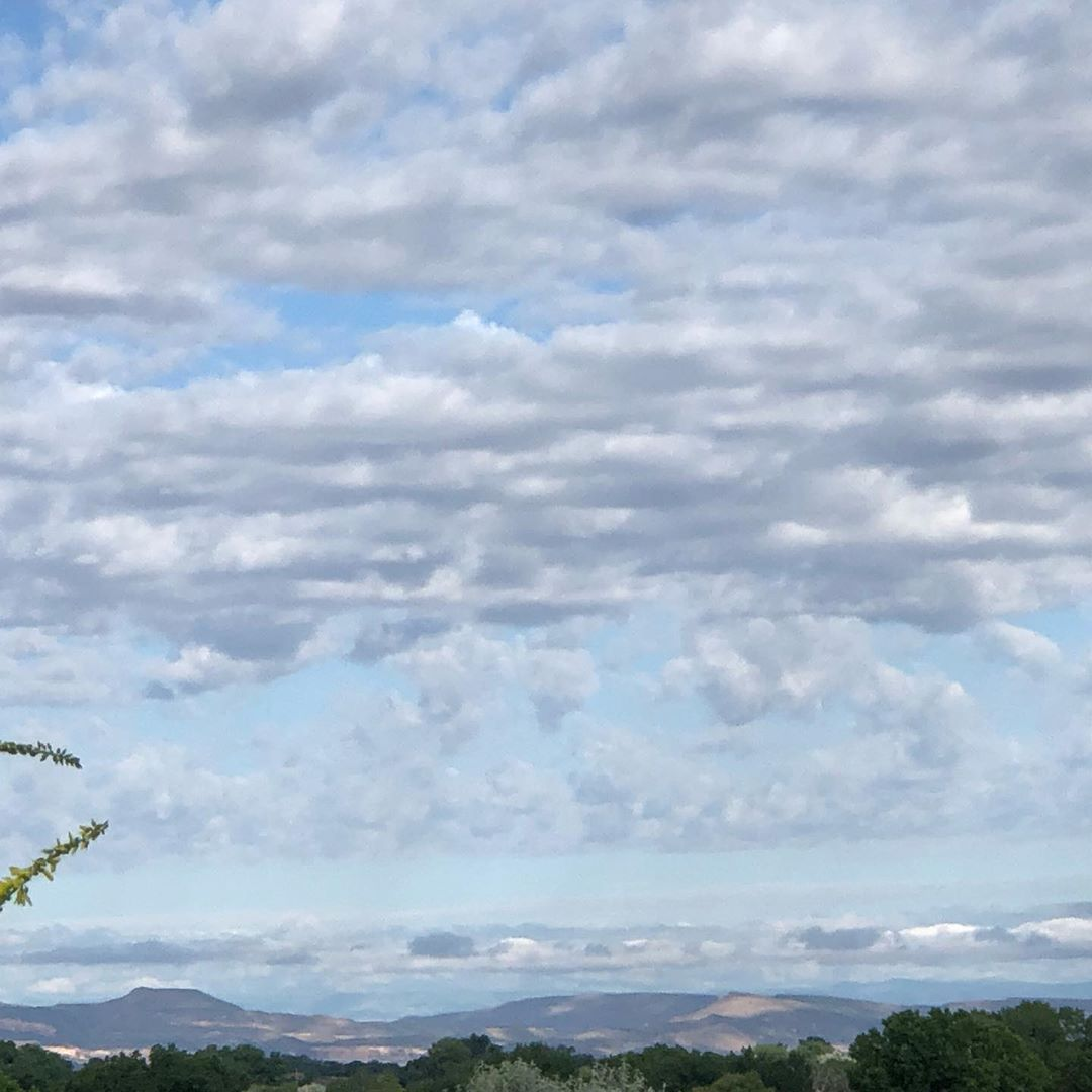 What a beautiful Western Colorado day! There is something about the skies the morning after intense rain. They are so clean & gorgeous! What are you doing on this first Saturday of Summer?