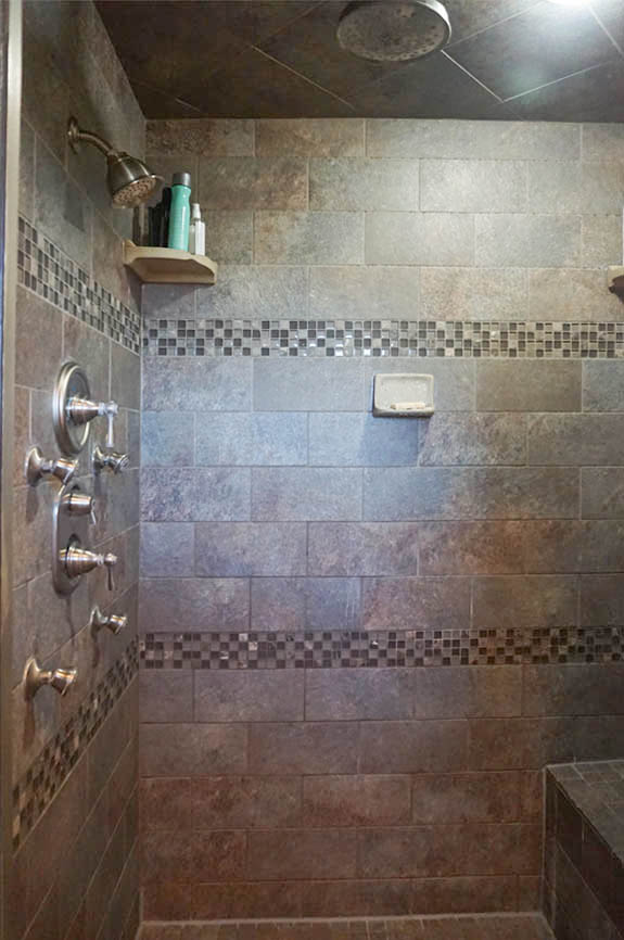 Amazing spa shower in 2575 Young Court's Master Bath