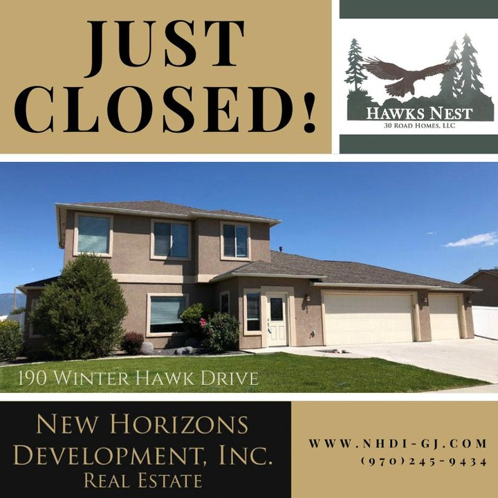 Another Hawks Nest home has closed! ⁣ Welcome to the neighborhood 😀