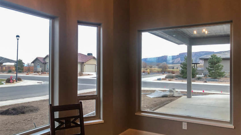 View from the dining area of 1329 Niblick Way, Fruita.