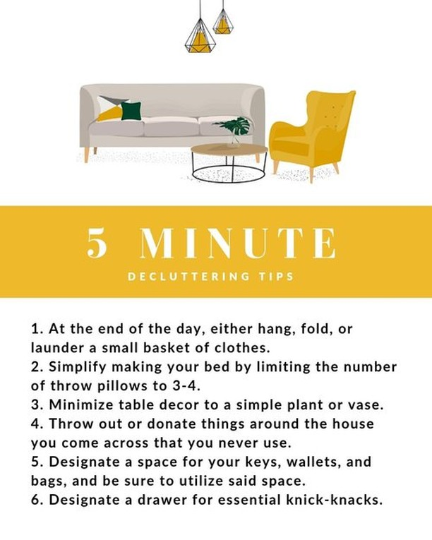 5 minute declutter tricks!⁣ ⁣ If your home is like everyone else's, you may have little pockets of clutter here and there. Here are some quick tips to help keep the clutter at bay!⁣ ⁣ 𝐍𝐞𝐰 𝐇𝐨𝐫𝐢𝐳𝐨𝐧𝐬 𝐃𝐞𝐯𝐞𝐥𝐨𝐩𝐦𝐞𝐧𝐭, 𝐈𝐧𝐜.⁣ 𝟗𝟕𝟎-𝟗𝟖𝟓-𝟗𝟒𝟑𝟐 |  𝐈𝐧𝐟𝐨@𝐍𝐇𝐃𝐈𝐆𝐉.𝐜𝐨𝐦
