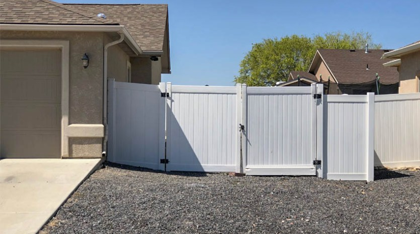 The RV parking area is accessible through a 10-foot access gate.