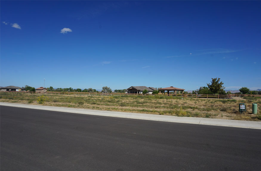 1445 Shoreline Drive, Fruita is a ⅓ acre vacant lot in Adobe Falls Subdivision.