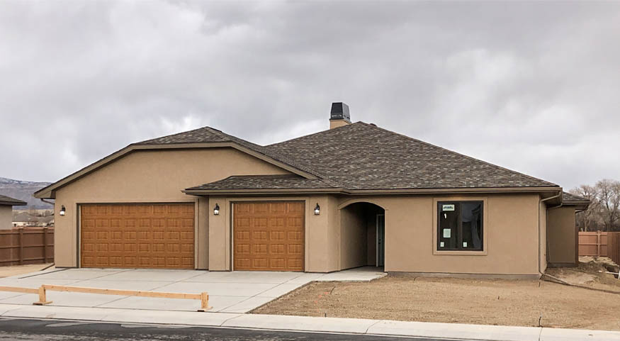 853 Fire Agate is a 3 bedroom, 2.5 bath 2140 square foot home in Emerald Ridge Estates.