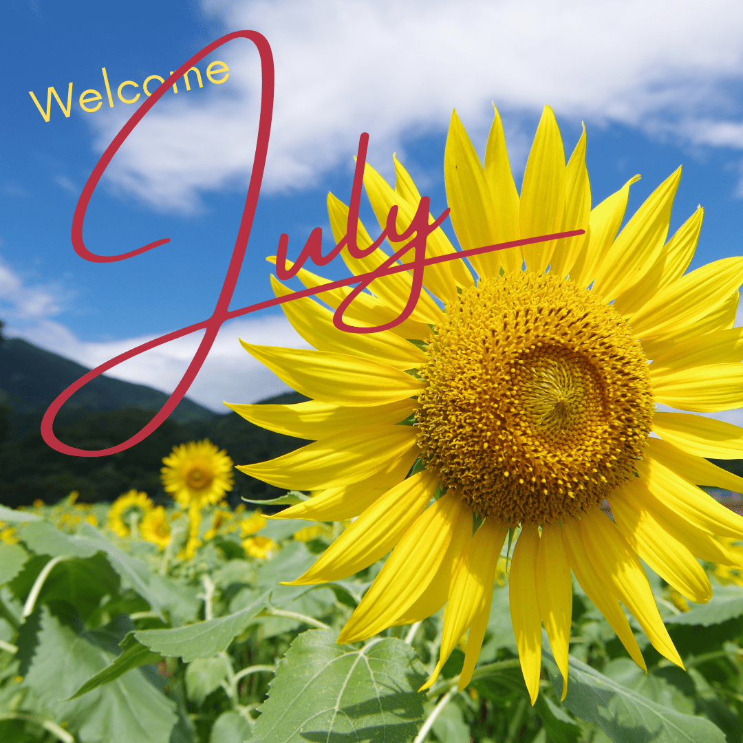 Welcome July!