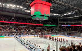 Arena Riga, na Letonia, one ocorreão os jogos do Campeonato Mundial da IIHF.