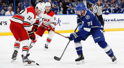 Tampa Bay Lightning and Carolina Hurricanes face off in Central Division decision