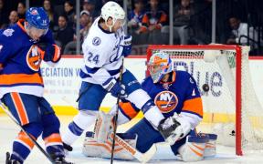 Tampa Bay Lightning enfrente New York Islanders