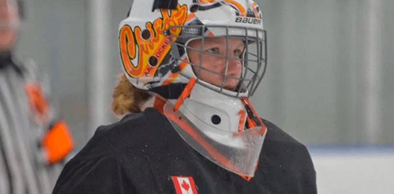 Taya Currie escolhida na OHL