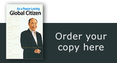 "Order a copy of ""As a Peace Loving Global Citizen"""