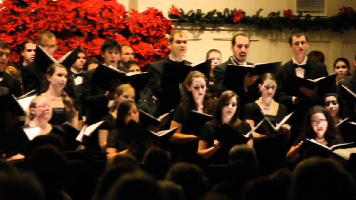 """""""The 150th Psalm"""" (USF Chamber Singers)"""