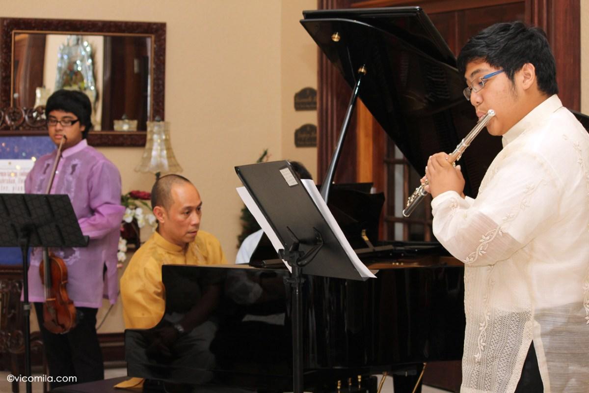 Ako ay Pilipino/Sa Kabukiran Medley for Violin, Flute and Piano