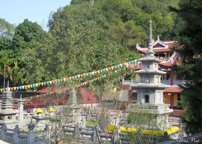 Tháp đá Chân Tịnh chùa Thiên Trù. Photo: TongMai